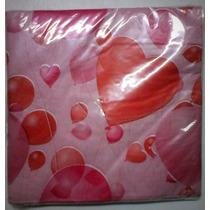 Pack 20 Servilletas Importadas Amor Cotillón Decoupage
