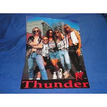Thunder - Poster De 53 Cm De Largo X 40 Cm De Ancho