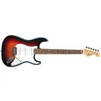 Squier Guitarra Eléct Stratocaster California Rwn Sunburst