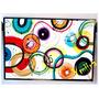 Cuadros Abstractos Modernos Colores 70x50 Pintados A Mano