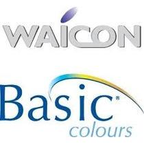 Lentes De Contacto Waicon Basic Colours Mensuales