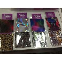 Foil En Laminas Animal Print,lisos,holo Y Más $20