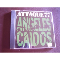 Attaque 77 - Angeles Caidos - Caja Acrilica Edicion 1997