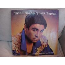 Vinilo Ariel Mora Y Los Tigres Con Sabor Lat P1