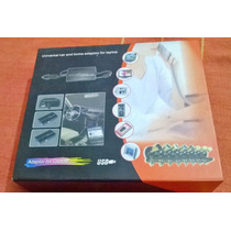 Cargador De Auto Universal Para Notebook / Tablets / Usb