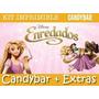 Kit Imprimible Enredados - Rapunzel - Candy Bar + Extras