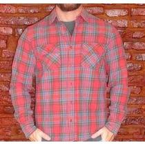 Camisa Americanino De Grueso Algodon,no Vans ,no Lacost