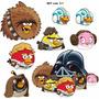 Stickers! - Vinilos Decorativos De Angry Birds Star Wars!