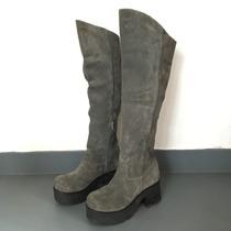 b08e82638 Busca botas bucaneras suedes gris plataforma con los mejores precios ...