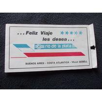 Lote De 3 Pasajes En 1. Cia Rio Plata 1986. Toninas- Bs As