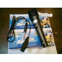 Microfono Sm-338 Dynamic - Profesional - Karaoke - Olivos