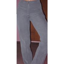 Pantalon De Vestir Tiro Medio Talle L