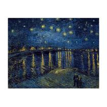 Lamina- Noche Estrellada Sobre El Rodano- V Gogh-70 X 58 Cm.