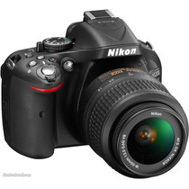Nikon D5200 Kit 18-55 Full Hd 24mp Cam Reflex Stock Ya! Gtia