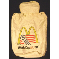 Mochila Retro Promo World Cup Usa 94',impecable!!