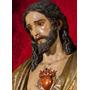 Corazon De Jesus - Laminas En Bastidor, Imágenes Religiosas