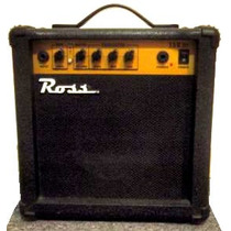 Amplificador De Guitarra 15w Ross 15 G Distorsion/clean