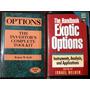 Opciones. Options. Exotic Options. En Ingles. Lote 2 Libros