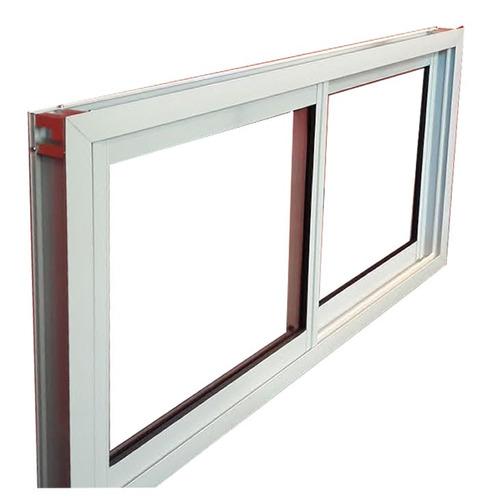 Ventana abertura aluminio vidrio 3mm blanco fabrica 150x60 for Aberturas de aluminio blanco precios rosario