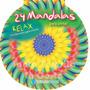 Libro Mandalas Para Pintar - Lote X 5 - Editorial Guadal