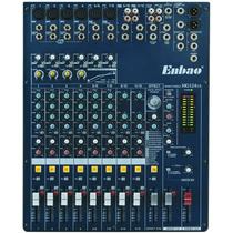 Mixer Consola Enbao / Yamaha Mg124cx 12 Canales 16 Fx Simil