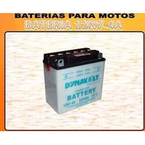 Bateria 12n7-4a Dynavolt Suzuki Gn 125 C.c Con Ácido! Wagner