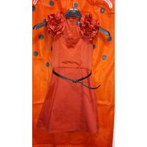 Vestidito De Nenas Mini Oreiro, Talle 6