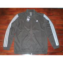 Campera Deportiva Adidas Modern Kn Suit Hombre Talle L Negro