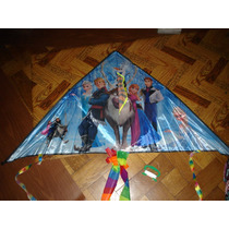 Barrilete Frozen 1,30m X 0,65m Animal Tela Avion