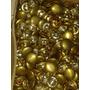 Botones Blancos Dorados De Metal Para Tapiceros Nª18 Únicos.