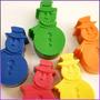 Crayones - Souvenirs - Muñeco De Nieve- Frozen - Pack X 24un
