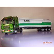 Camion Tankero Ypf-gas Oil En Escala 1/43.unico En Caja