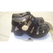 Zapatos Sandalia Mujer T.36 Simil Charol - Lady Comfort