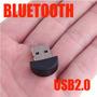 Adaptador Mini Dongle Bluetooth Usb 2.0 3mbps Stock Oferta