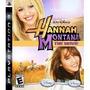 Juego Ps3 Hannah Montana The Movie Original Cerrado
