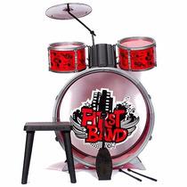 Bateria Musical P/ Niños Faydi First Band Musica Juguete