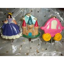 9 Chupetines De Chocolate Princesa