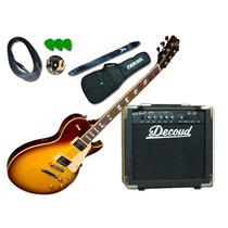 Guitarra Electrica Les Paul Sx Gg1 Standard Amplificador Dvd