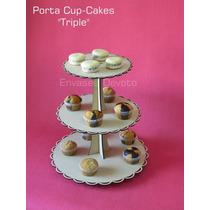 Cupcakes De Tres Pisos Candy Bar - Fibrofacil - Golosinas