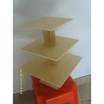 Torres Para Muffins-mdf-fibrofacil-$47 (torre Cuadrada)