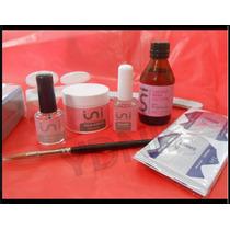 Kit Completo Uñas Acrilicas Esculpidas Ydnis Maquillaje