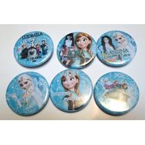 Frozen Souvenir Prendedores Cumpleaños Infantiles