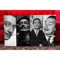 Cuadros Modernos Salvador Dalí. Artesanales. Arte. Deco