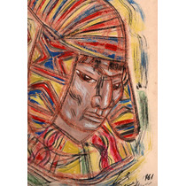 Nº 186 - Coya - Serigrafía Firmada De Araujo Castellano