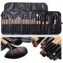 Set De 24 Pinceles Y Brochas Para Maquillaje Profesional