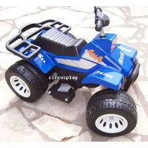 Quad Triciclo Cuatriciclo Super Moto Auto A Bateria Niños