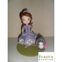 Princesita Sofia - Adorno De Torta En Porcelana Fria