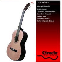 Guitarra Clásica Gracia Modelo M2 Con Funda Acolchada