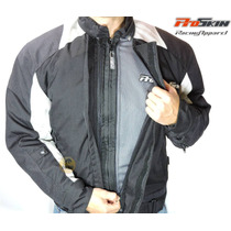 Campera Para Motociclista Proskin Thermal Iii Negra Talle L
