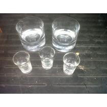 Set De Vasos De Wisky Y Chupitos De Vidrio